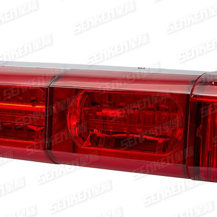 Senken Tbd550000 IP65 1204mm 4-Color Patrol Car Police Car Light Bar