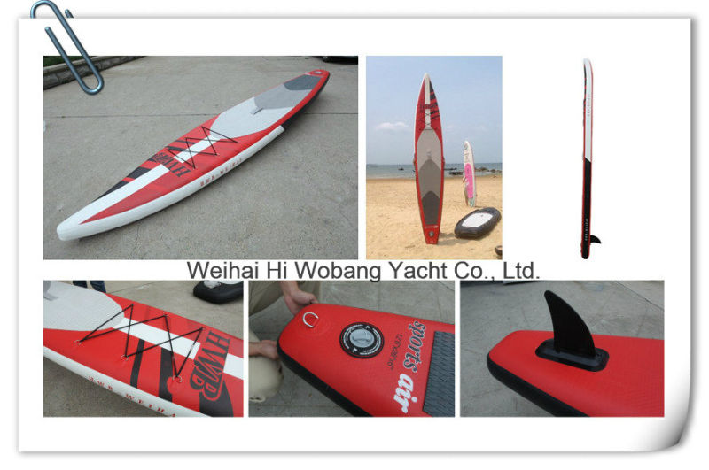 2016 Red Color Stand up Paddle Board Surfboard