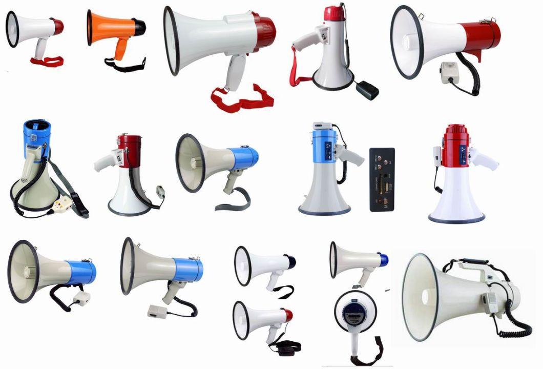45W ABS Handle Wireless Power Megaphone Polic Microphone Speaker (JHW-3501)