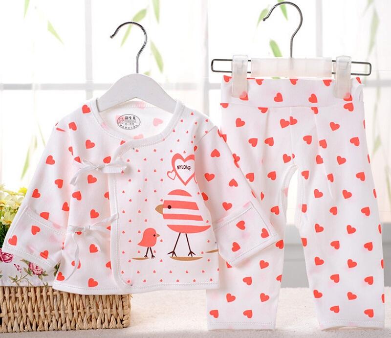 Combed Cotton Underwear Sets Infant Clothes