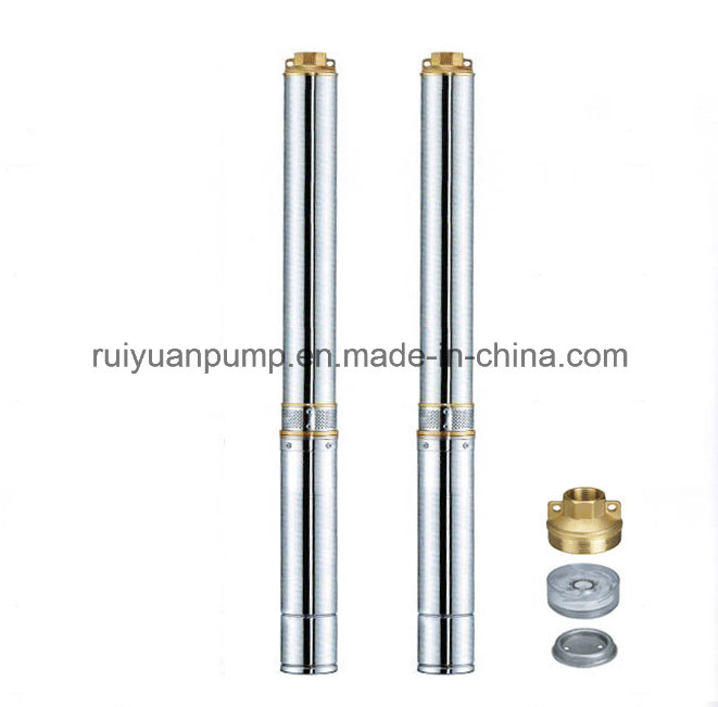 4 Inches 7.5HP Copper Wire Multistage Deep Well Submersible Water Pump (4SD8-34/5.5KW)