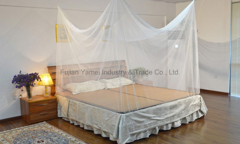Long Lasting Insecticide Treated Double Bed Mosquito Net