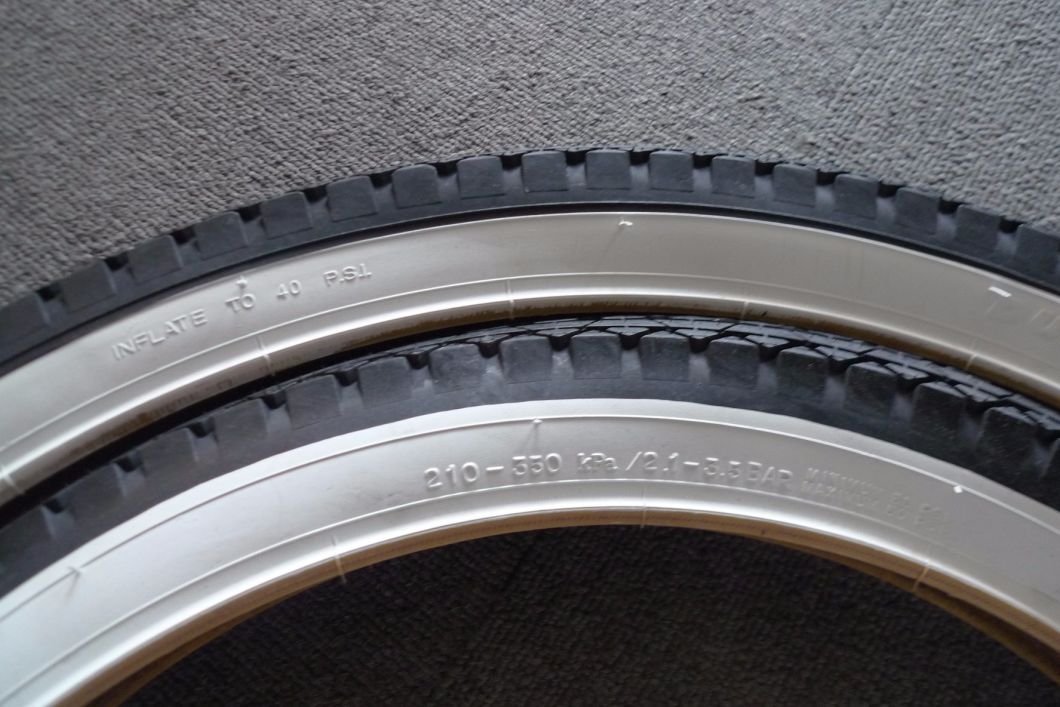 26*2.125 White Color Wall Bicycle Tire