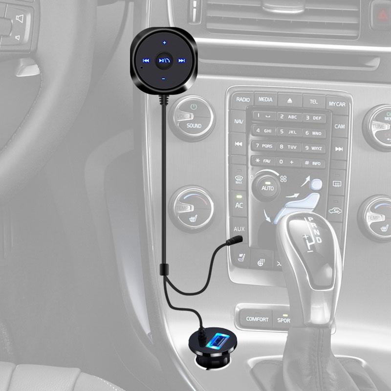 Bluetooth V3.0 Audio Receiver Handsfree Car Kit