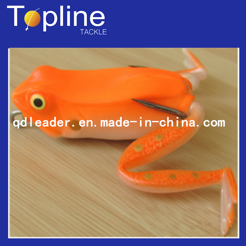 Colorful Soft Fishing Frog Lure for Fishing