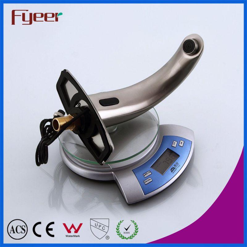 Fyeer Satin Finishing Automatic Water Mixer Sensor Tap