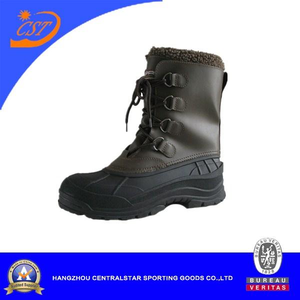Men's Soft PVC Snow Boots