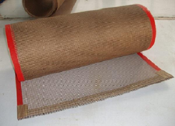High Temperature Resistant PTFE Mesh Conveyor Belt