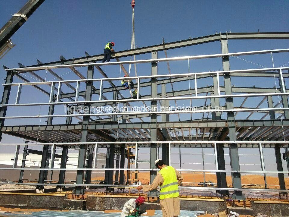Building Material Quality Assured Construction Metal Space Structure Steel Frame Structure Workshop