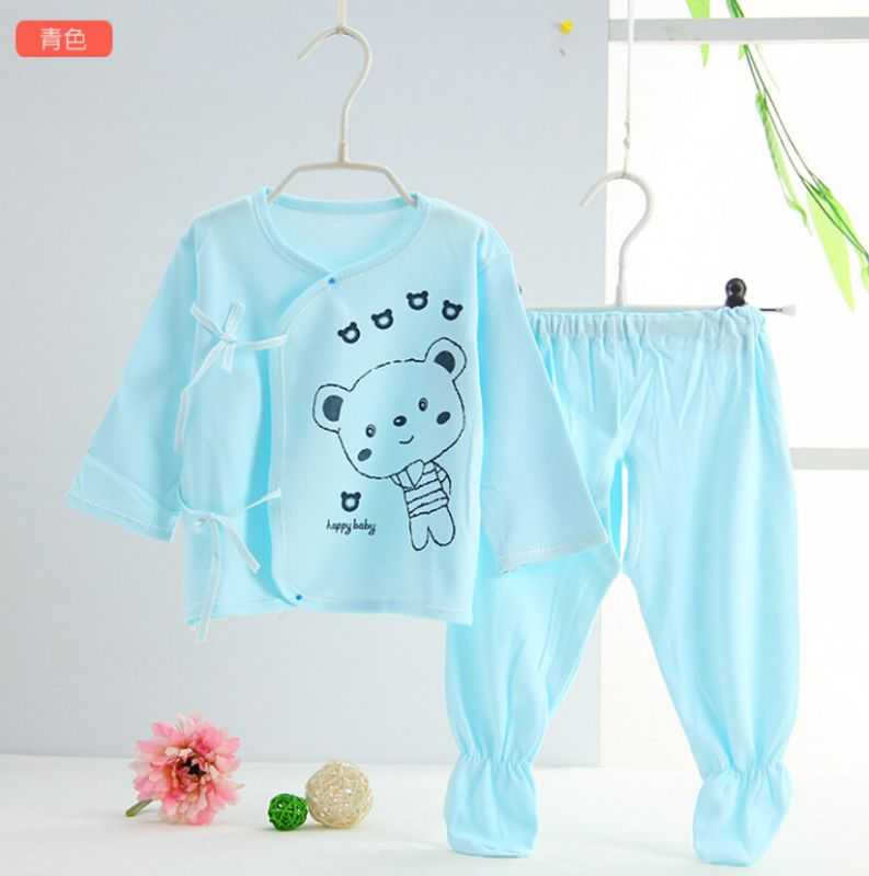0-3m Cotton and Bamboo Baby Clothes