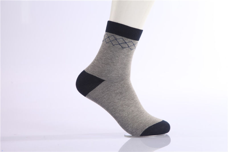 Classic Man Business Dress Crew Cotton Socks Good Quality Comfortable Wear