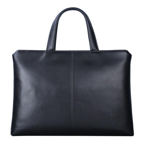 Genuine Italian Leather Computer Bag Men Carry Laptop Fashion Bag