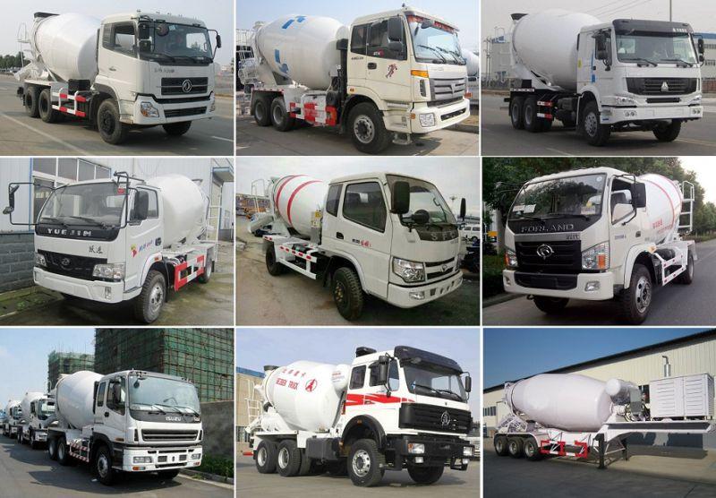 6cbm Dongfeng 4X2 Concrete Mixer Truck
