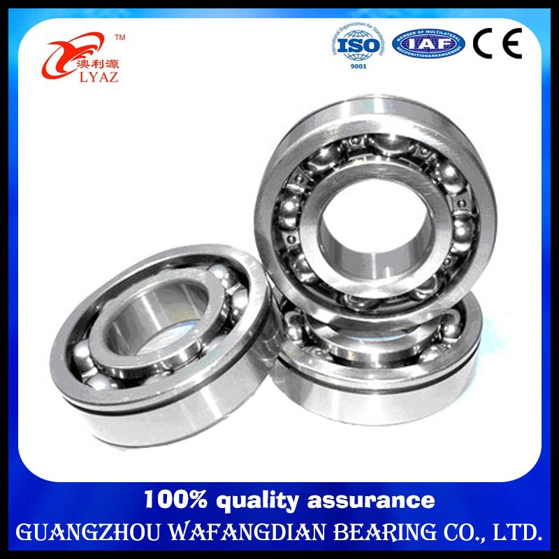 High Performance Hgf Brand Deep Groov Ball Bearing 6200 10*30*9 mm