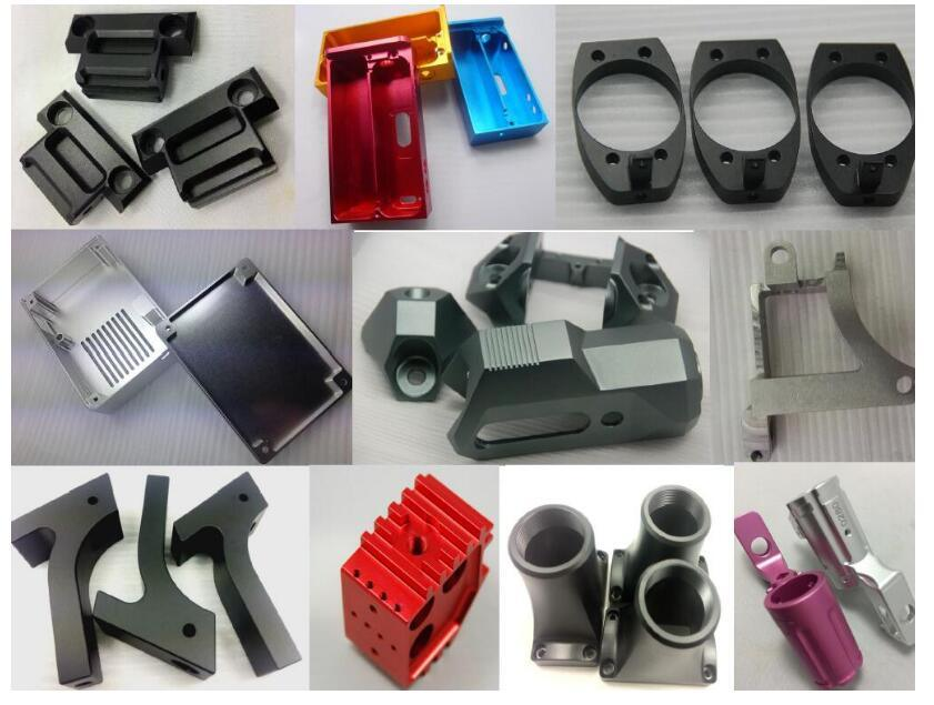 Precision CNC Milling Anodized Aluminum Mounting Bracket for Wheelchair