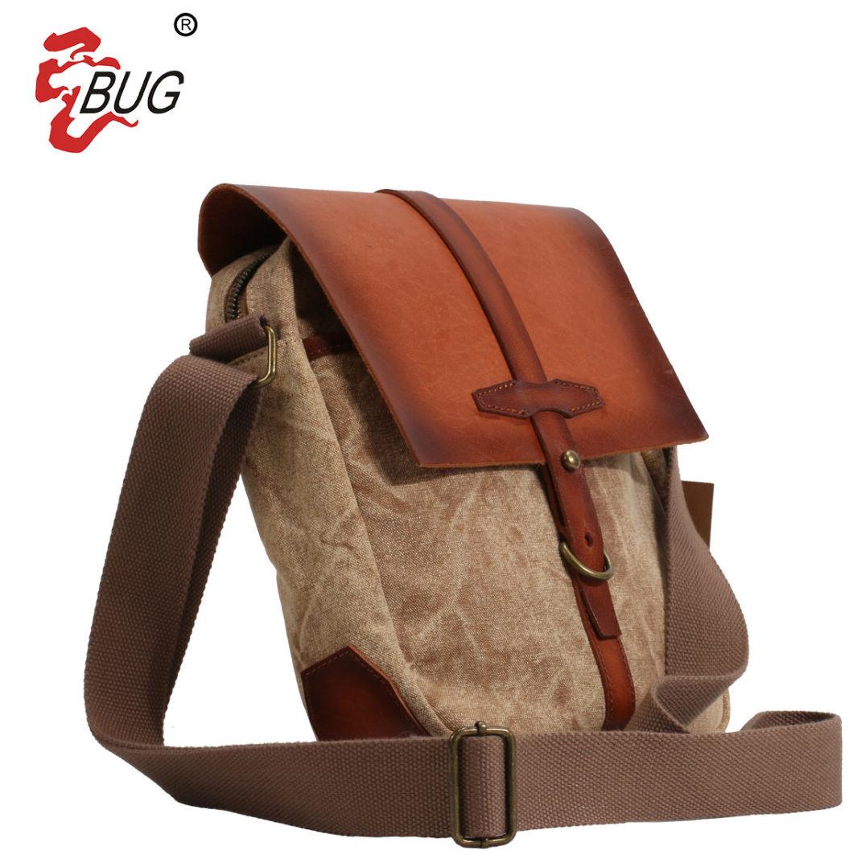 Men Outdoor Canvas Mini Crossbody Bag