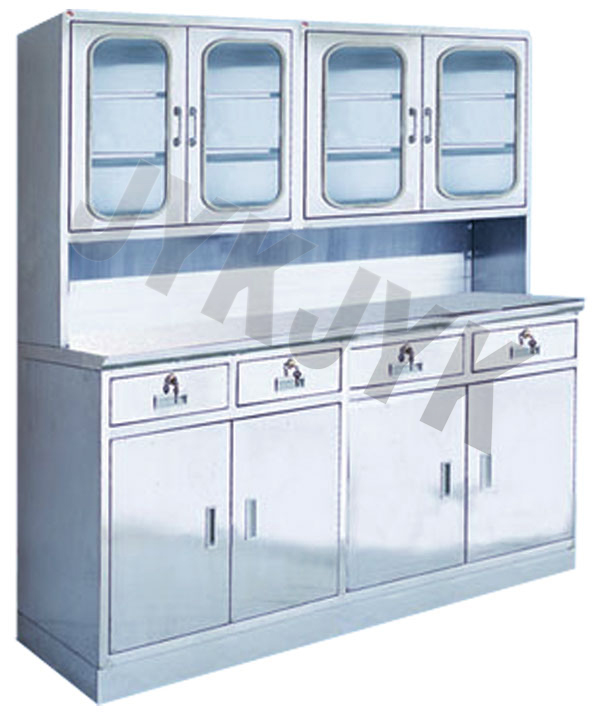 Stainless Steel Medical Apparatus Storage Cupboard Jyk-D15