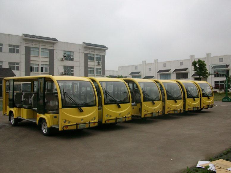China, Small, Mini, Pasenger, 14-20 Seats, Electrical Shuttle Bus