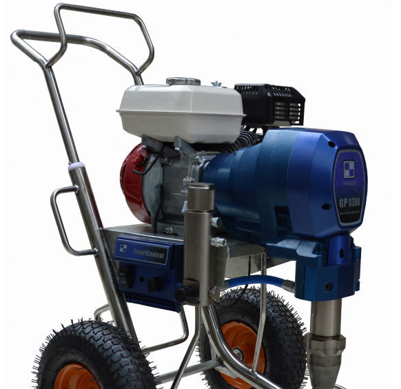 Powerful Gasoline Engine Large Flow Painting Equipment