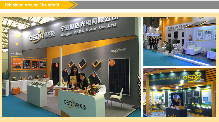 130W Poly-Crystalline Solar Panel with TUV/Ce/IEC/Mcs Certificate (ODA130-18-P)