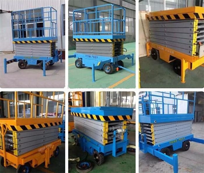 Manual/Hydraulic Vertical Cargo Portable Lift Table/Merchandise