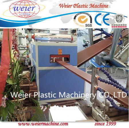 Wood Plastic Composite WPC Profiles Production Line