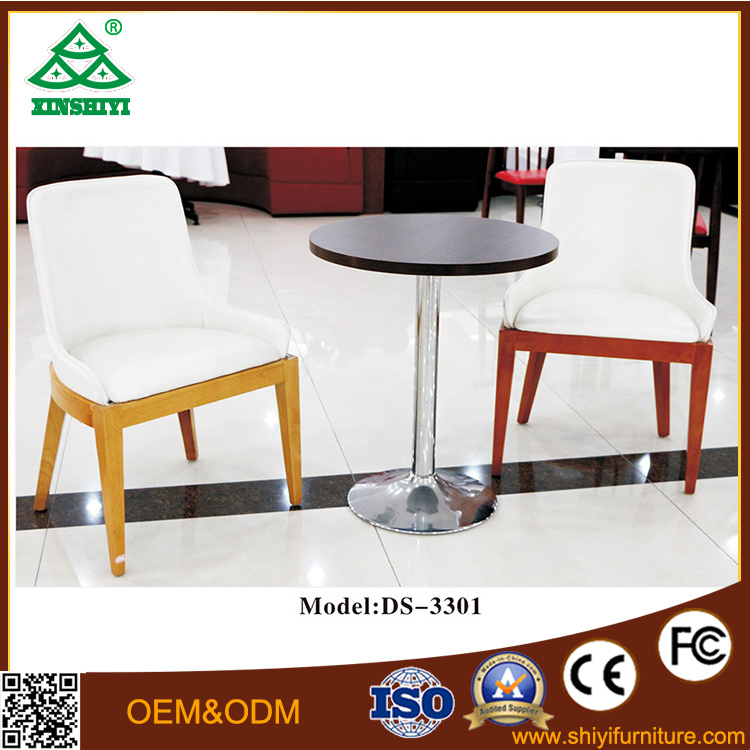 Popular Simple Steady Wooden Restaurant Coffee Table
