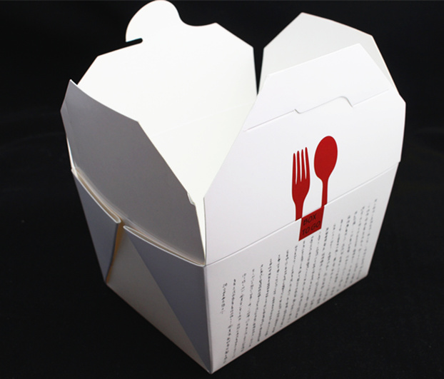 Eco-Friendly Chinese Noodle Take-out Paper Box