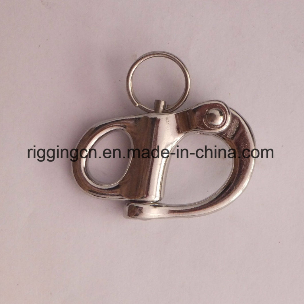 Stainless Steel Heavy Duty Jaw Swivel Snap Shackle