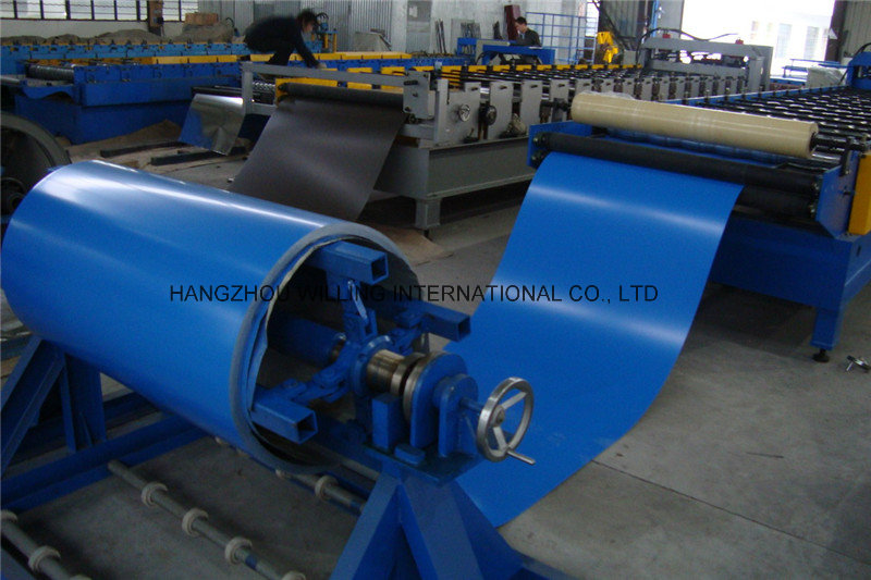 2016 High Quality Easy Use 3 Tons Simple Uncoiler