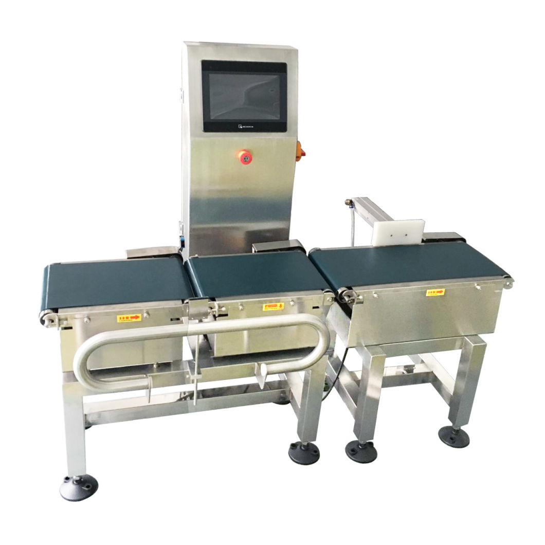 Automatic Conveyor Belt Pouch Check Weigher Sorting Machine