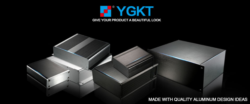 Aluminum Briefcase Tool Gift Box with Drawers for Trucks Extruded Enclosure