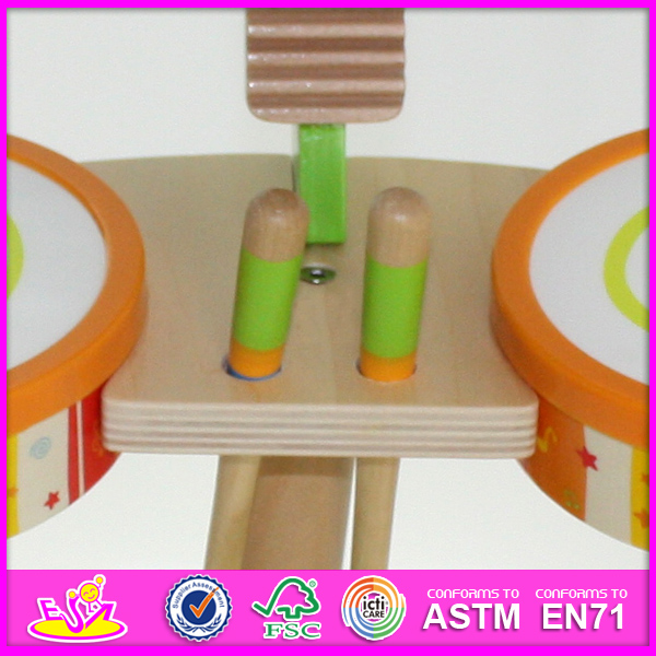 Best Mini Wooden Drum Toy for Kids, Novelty Hot Sale Drum Toys for Children, Music Toy Wooden Toy Drum Toy for Baby W07j025