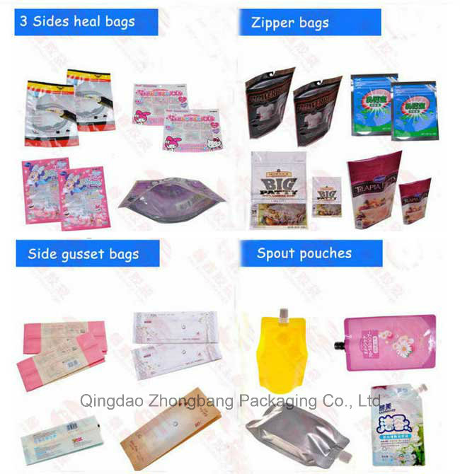 Custom Printed Stand up Nuts Packaging Bag