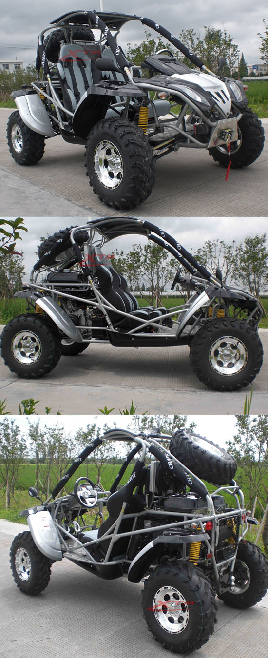 650cc 600cc 4X4 CF Engine CVT Gearbox Beach Buggy
