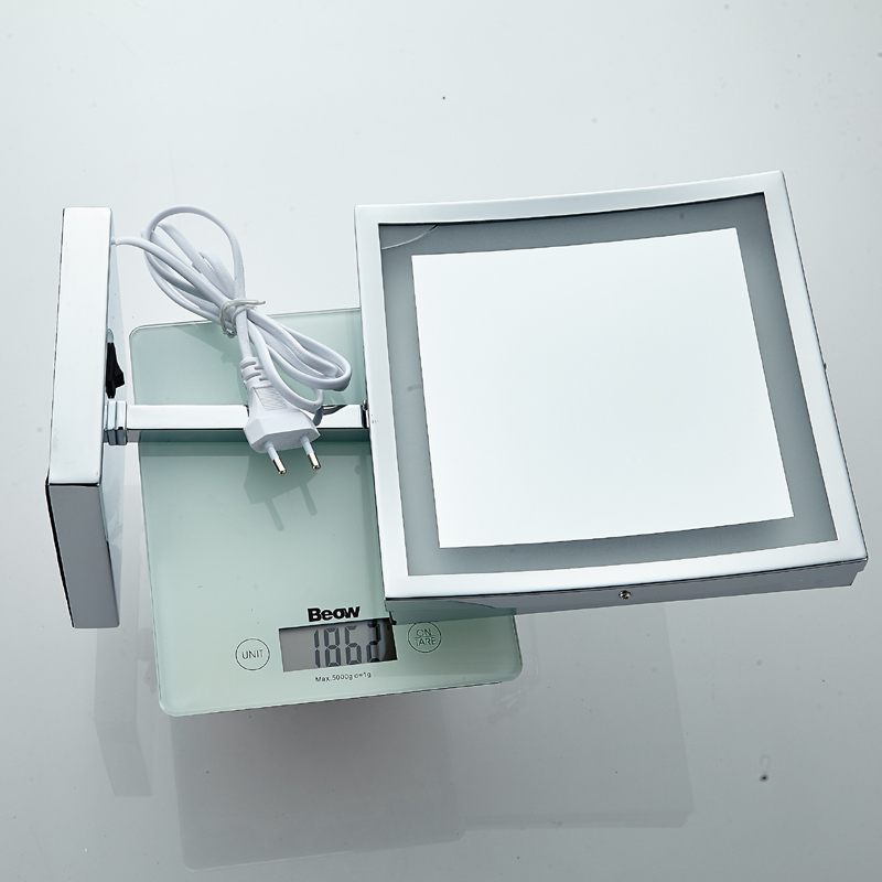 Table Bathroom LED Light Cosmetic Mirror 5089 LED Light Shaving Mirror 5089 LED Light Makeup Mirror