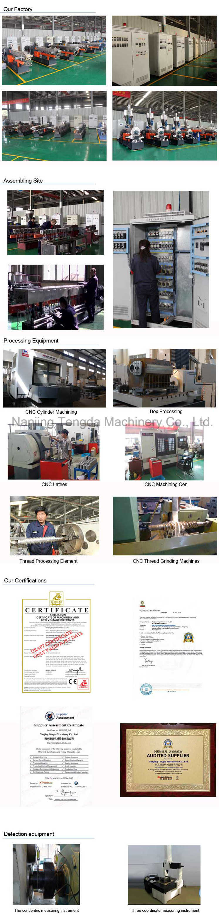 Twin Screw Extruder with Air Cooling Hot Face Pelletizing