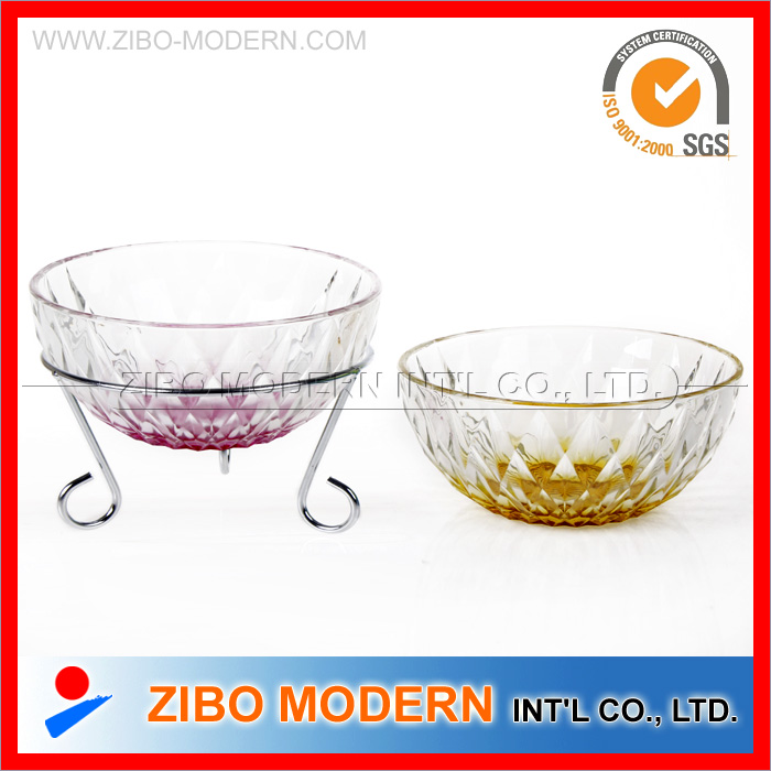 Clear Round Glass Bowl Set / Salad Glass Bowl Set