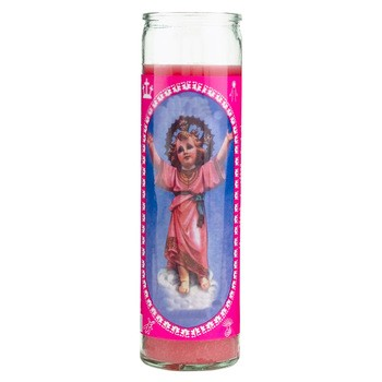 7days Glass Jar Religious Candle