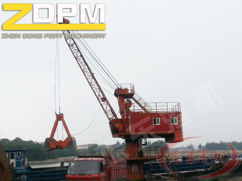 Fixed Base Portal Crane Sea Port Crane Portable Cranes