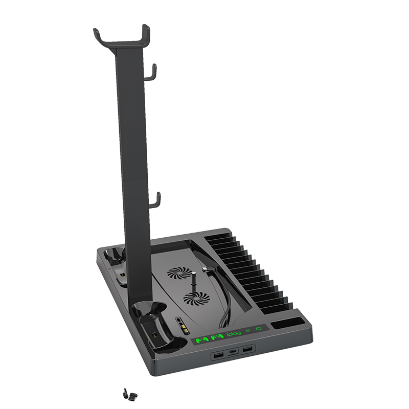 Playstation PS5 vertical stand with USB HUB
