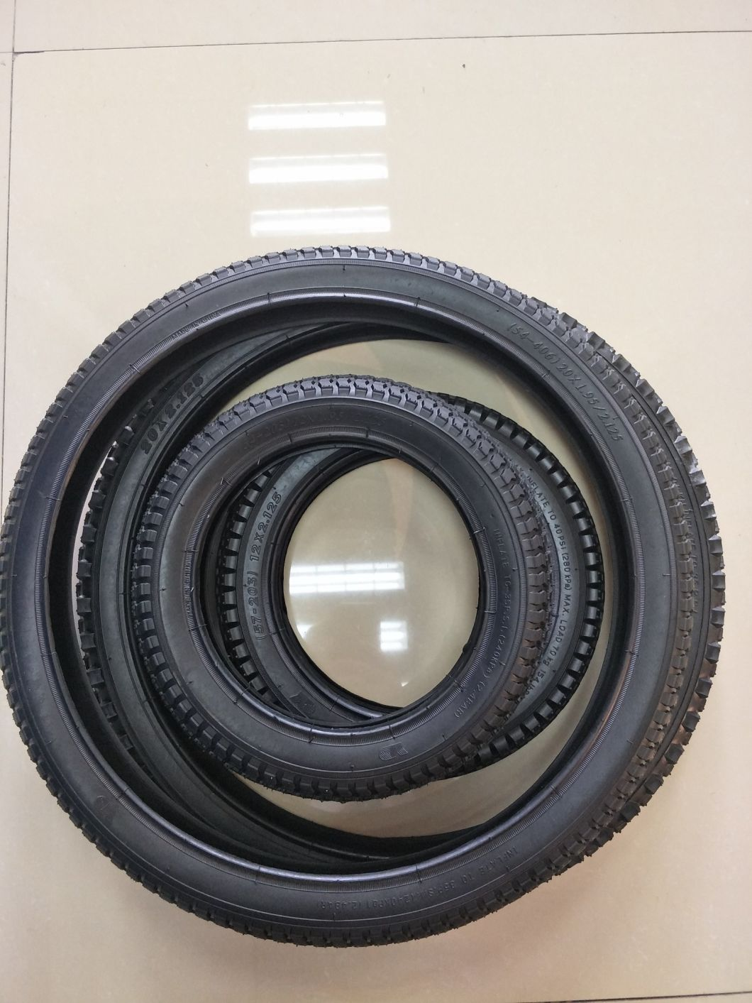 16*1.75 Bicycle Solid Tires 16 Inch Tires Bike Tires 16X1.75 High Quality Rubber Cycling Tyre