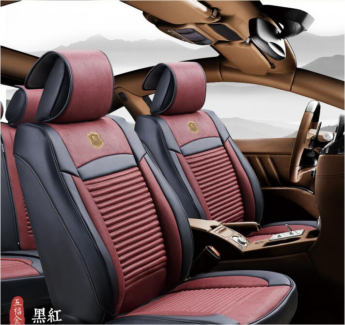 Car Seat Cover 3D Shape with Four Season Leatherette and Nature Fragrance