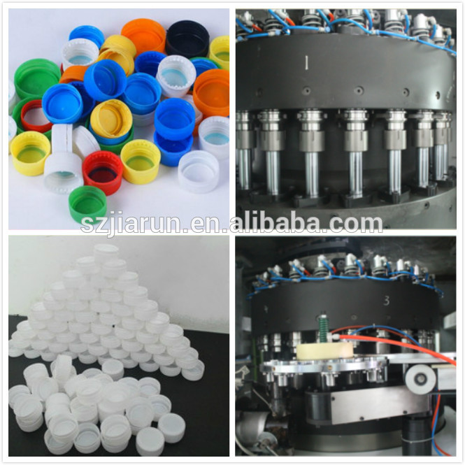 Shenzhen Jiarun Automatic Plastic Bottle Cap Compression Makeing Machine