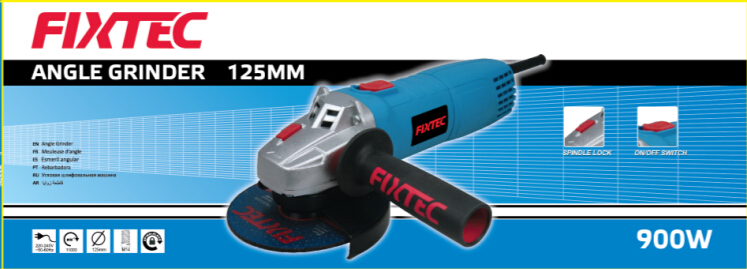 Fixtec 900W 125mm Electric China Angle Grinder