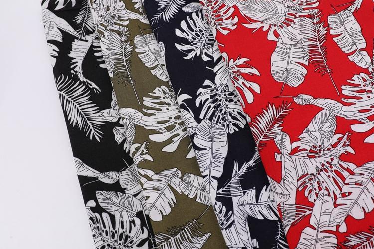 Rayon Poplin Floral Printed Fabrics Stock Lot