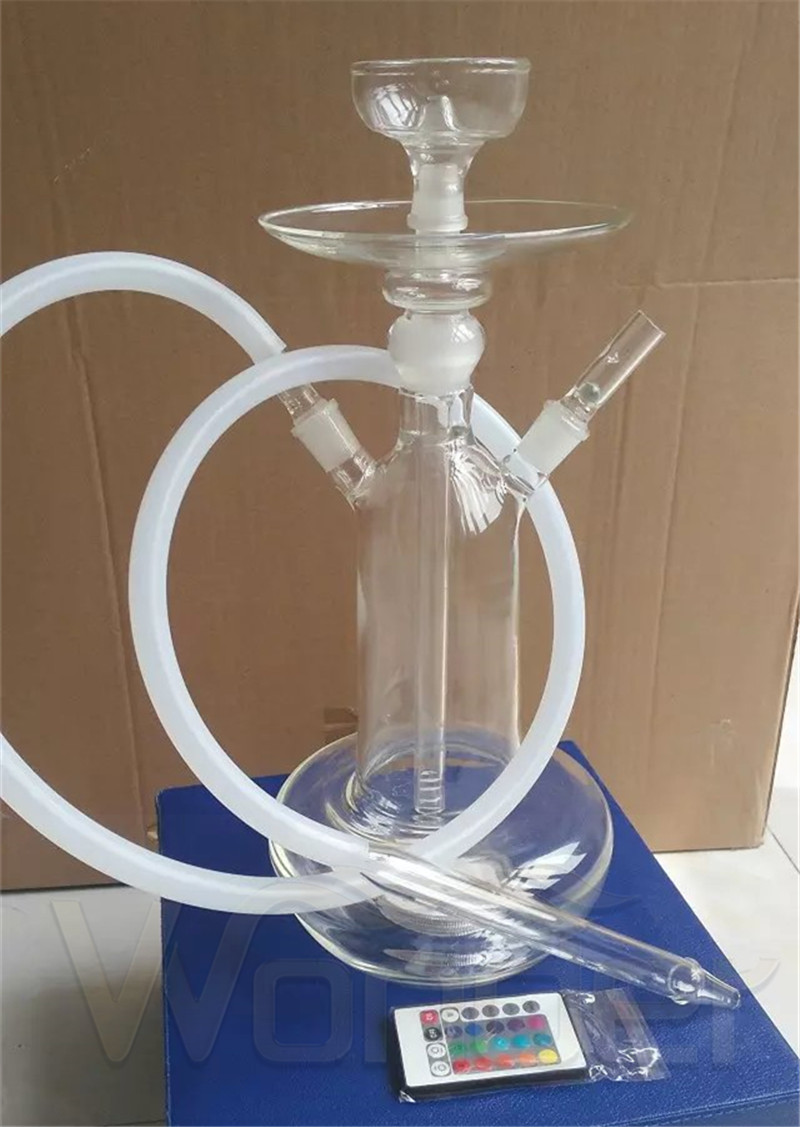 Glass Hookah with LED Light and OEM Service