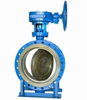 Disc Double Flange Butterfly Valve (D341X)