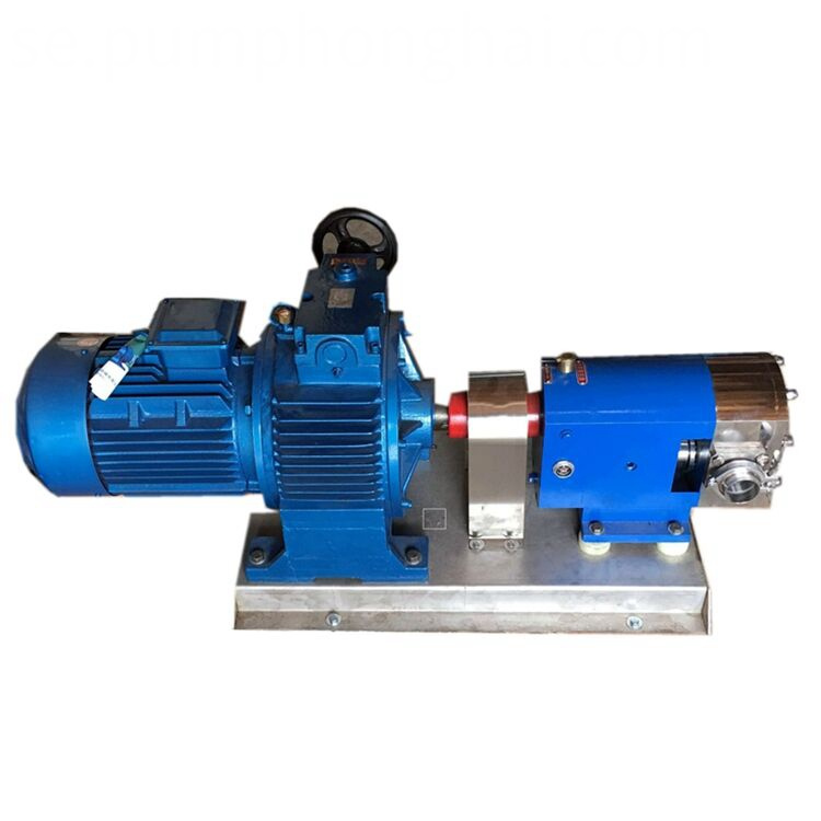 3RP mechanical seal sanitary rotary lobe pump