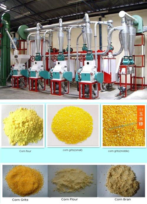 Mini Corn Flour Milling Machine